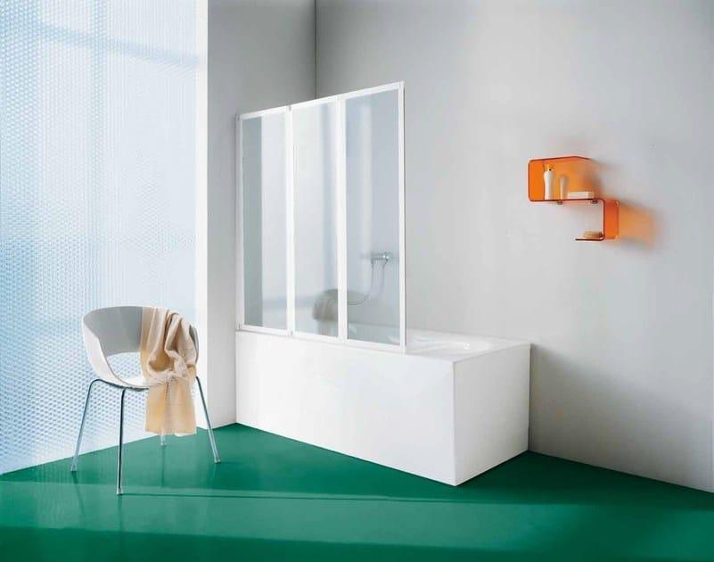 Parete per vasca in vetro classic parete per vasca samo - Parete per vasca ...