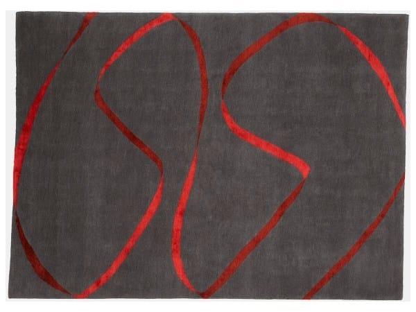 Handmade rug STREAMER - Deirdre Dyson