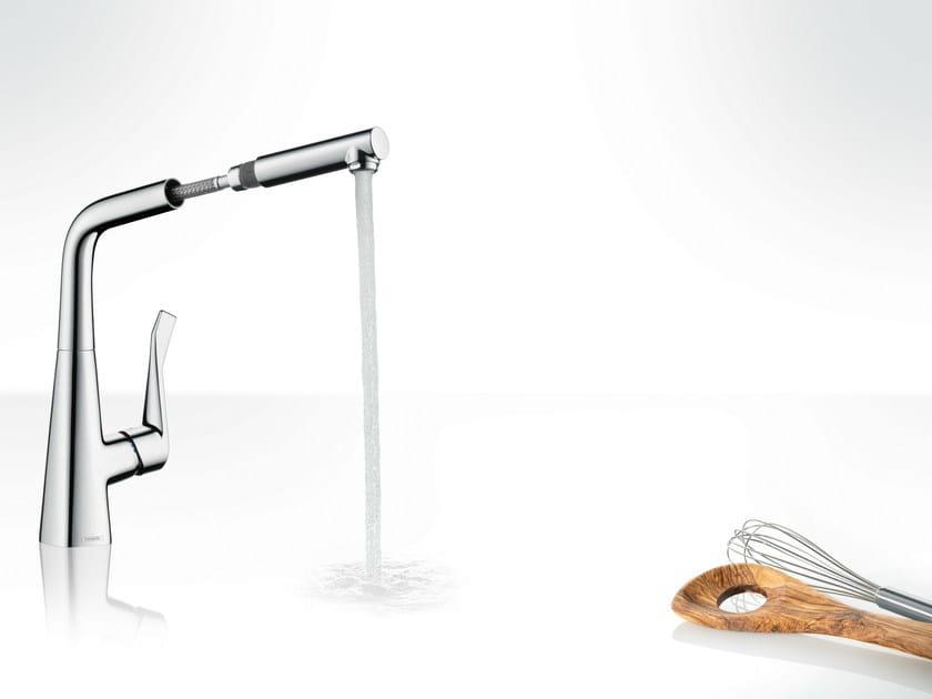 METRIS Küchenarmatur Mit Abnehmbare Brause By HANSGROHE