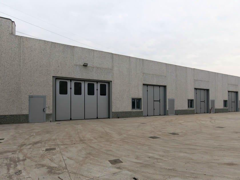 Industrial folding door ADONE - Breda Sistemi Industriali