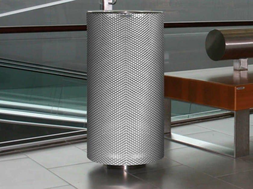 Stainless steel waste bin SPENCER ST - Metalco