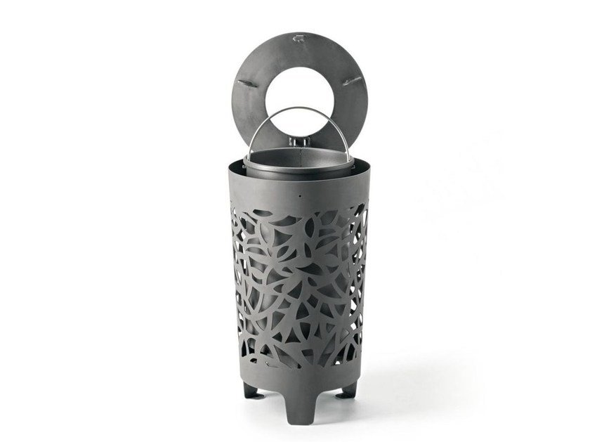 Waste bin with lid CONGA - Metalco
