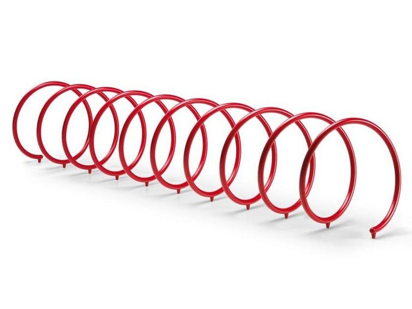Steel Bicycle rack SPYRA - Metalco