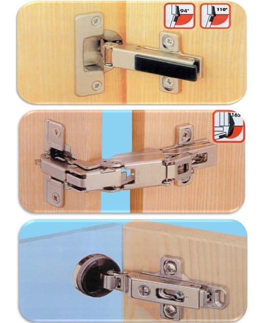 Spring snap style Cabinet Hinge Cerniere per mobili con ante - Unifix SWG