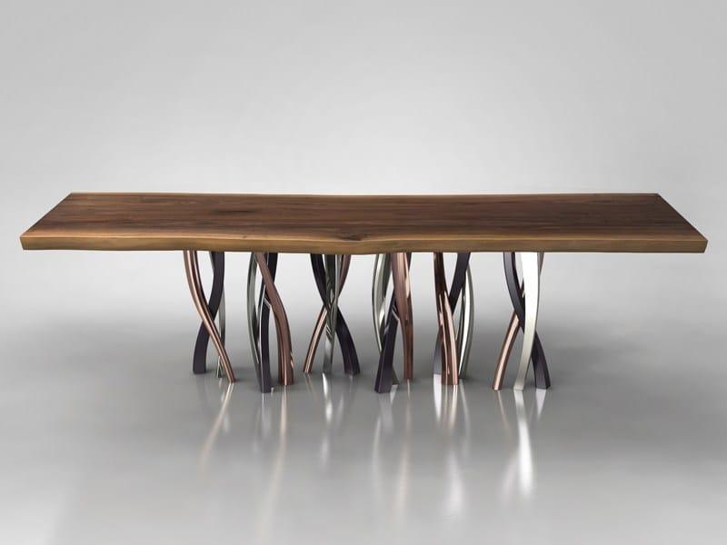 Tavolo in legno massello il pezzo 8 tavolo il pezzo - Tavoli in legno massiccio ...