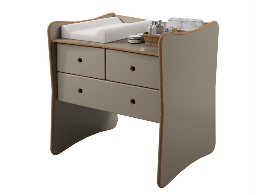 MDF changing table with drawers DAVID | Changing table - Mathy by Bols