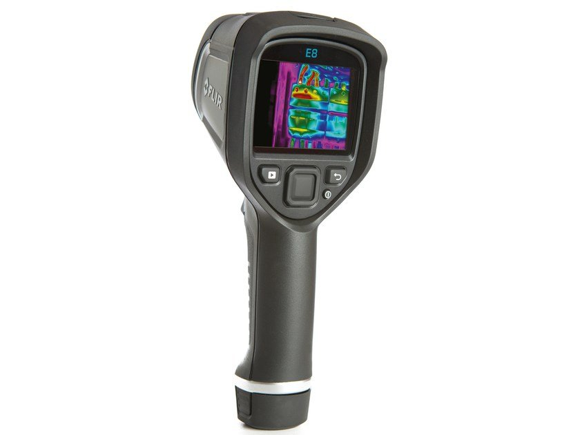 Measurement, control, thermographic and infrared instruments FLIR E8 - FLIR Systems