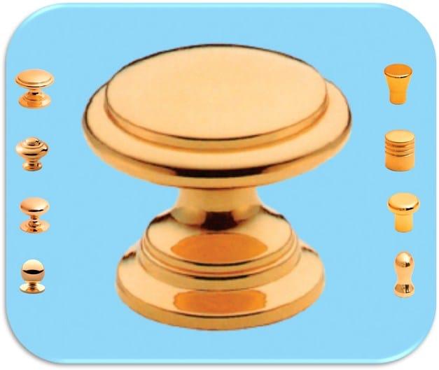 Wooden Furniture knob Pomelli per mobili in legno e ottone - Unifix SWG
