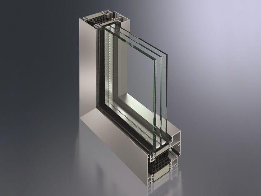 Finestra a taglio termico in alluminio SimplySmart by Schüco