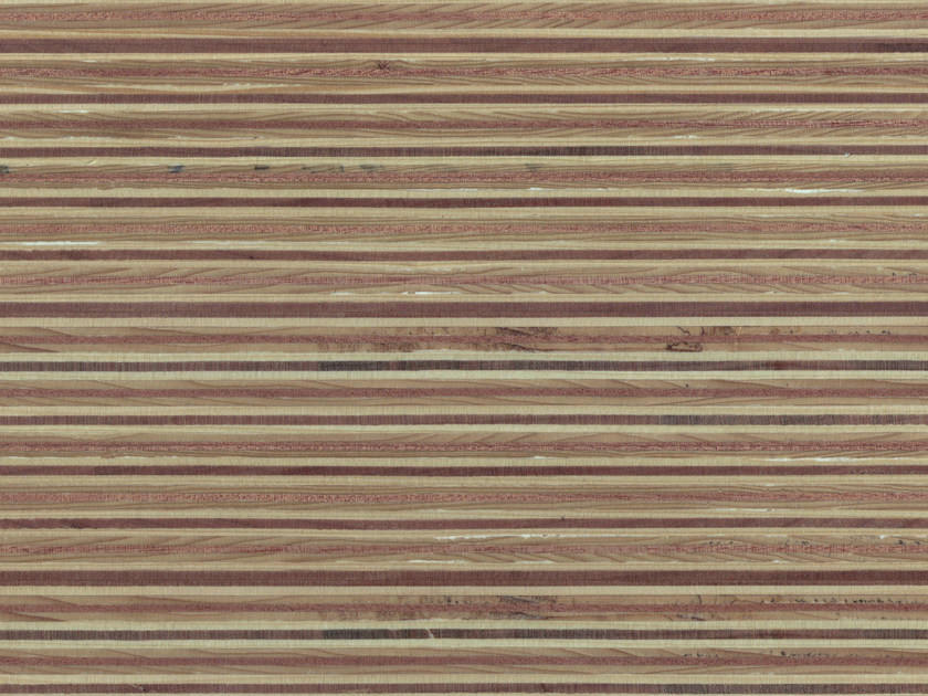 Wooden Veneered panel PLEXWOOD® PINE/OCOUMÈ - Plexwood