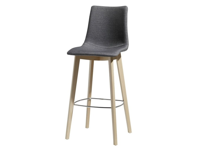 Upholstered stool NATURAL ZEBRA POP   Stool - SCAB DESIGN