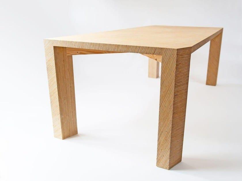 tischplatte by plexwood. Black Bedroom Furniture Sets. Home Design Ideas