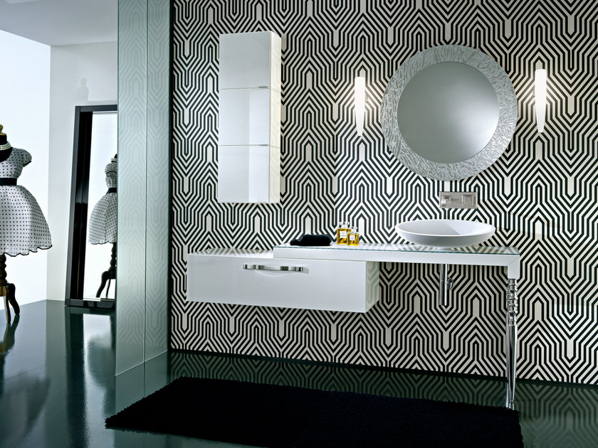 Single vanity unit with drawers DEKÒ | Vanity unit - IdeaGroup
