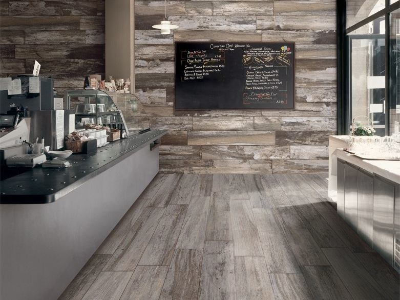 Porcelain stoneware flooring with wood effect BARRIQUE by Ceramiche Refin