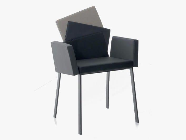 Chair with armrests KARMA - ITALY DREAM DESIGN - Kallisté