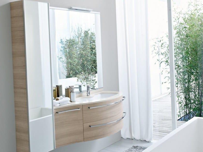 Mobile lavabo in mineralmarmo comp mfe03 idea for Idea groupe salle de bain