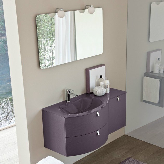 Vanity unit with drawers COMP MFE15 by Idea