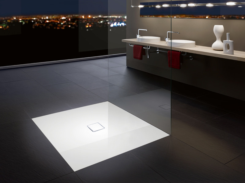 Flush fitting shower tray CONOFLAT - Kaldewei Italia
