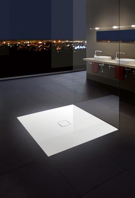 piatto doccia filo pavimento conoflat kaldewei italia. Black Bedroom Furniture Sets. Home Design Ideas