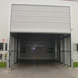 Flexible industrial door Vertically sliding industrial door by A.T.I. Dainese