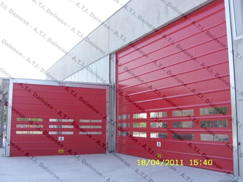 Vertically sliding industrial door Vertically sliding industrial door - A.T.I. Dainese