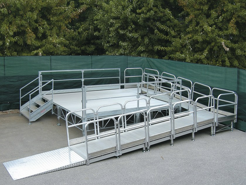 Aluminium Entrance ramp LEVEL by SELVOLINA