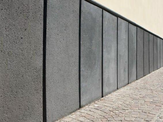 Reinforced concrete external wainscoting External wainscoting - F.lli Maresca