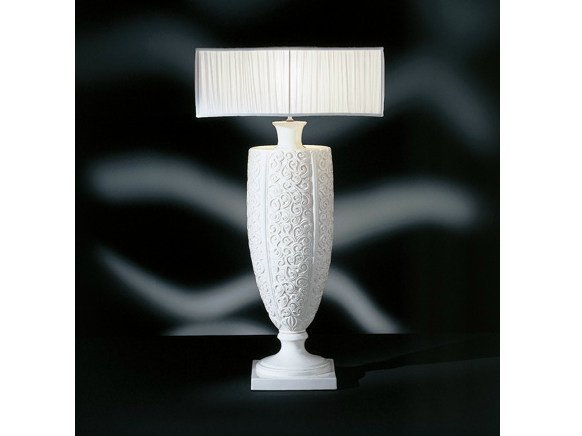 Table lamp BIANCA INTAGLIATA by Transition by Casali