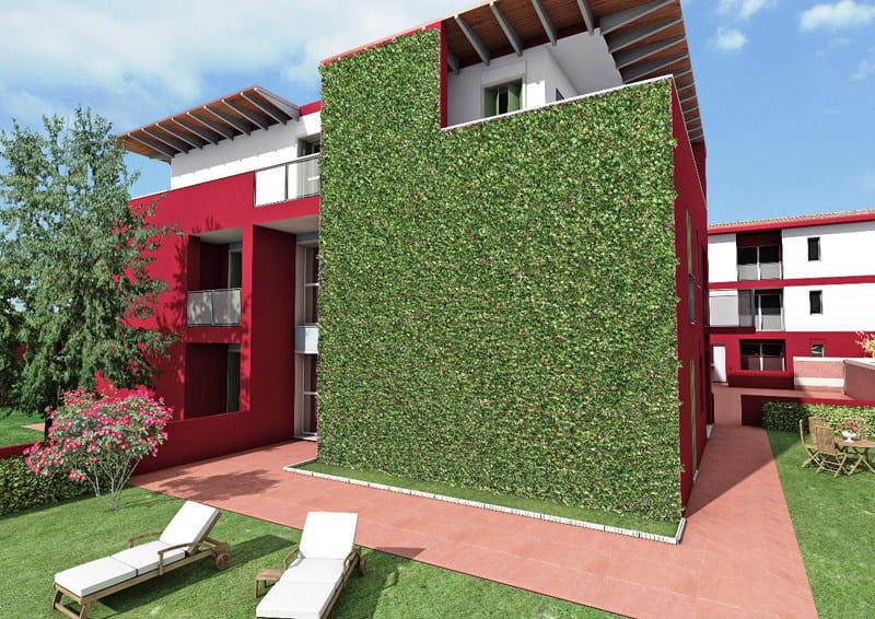 Griglia per verde verticale wall y geoplast - Moduli per giardino verticale ...