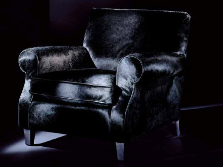 Upholstered armchair with armrests 3017 | Armchair - Transition by Casali