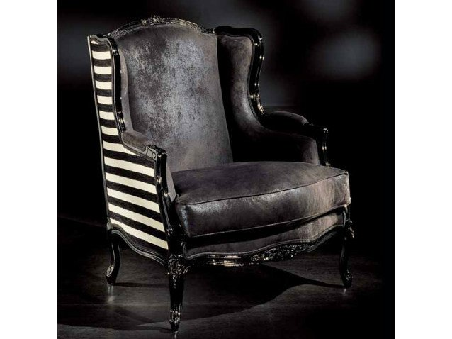 Upholstered armchair with armrests 2027   Armchair - Transition by Casali