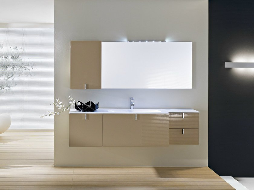 Wall-mounted vanity unit COMP C10 - IdeaGroup