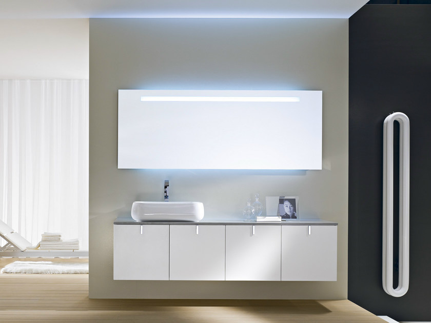 Wall-mounted vanity unit COMP C04 - IdeaGroup
