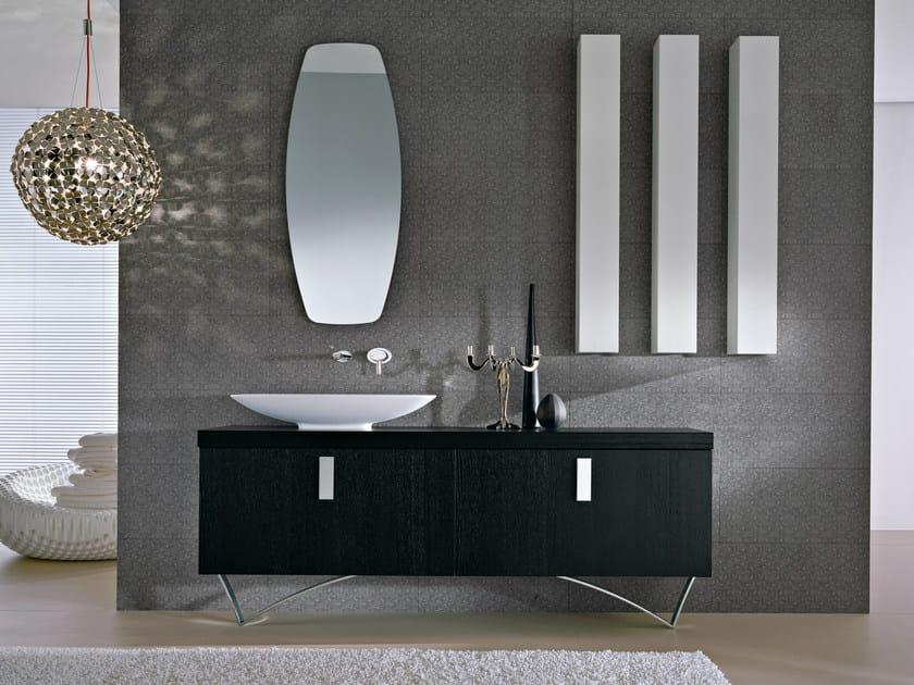 Floor-standing vanity unit with mirror COMP TE5 - IdeaGroup