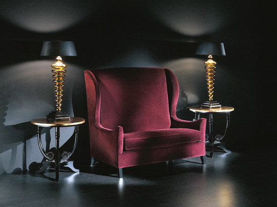 Upholstered armchair with armrests AMBIANCE 131   Armchair - Transition by Casali