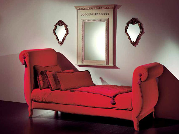Upholstered day bed AMBIANCE 105 | Day bed - Transition by Casali