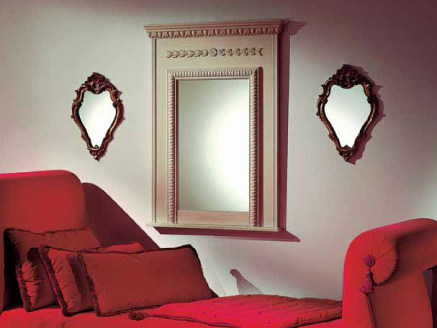 Wall-mounted framed rectangular mirror AMBIANCE 105 | Mirror by Transition by Casali