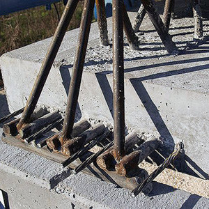 Mixed steel-concrete beam and column Beam NPS® CLS PLUS by Tecnostrutture