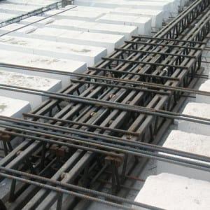 Mixed steel-concrete beam and column Beam NPS® LIGHT - Tecnostrutture