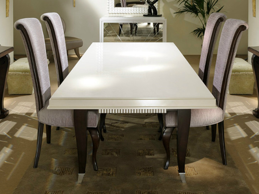 Rectangular table ART DECO MILANO | Table - Transition by Casali