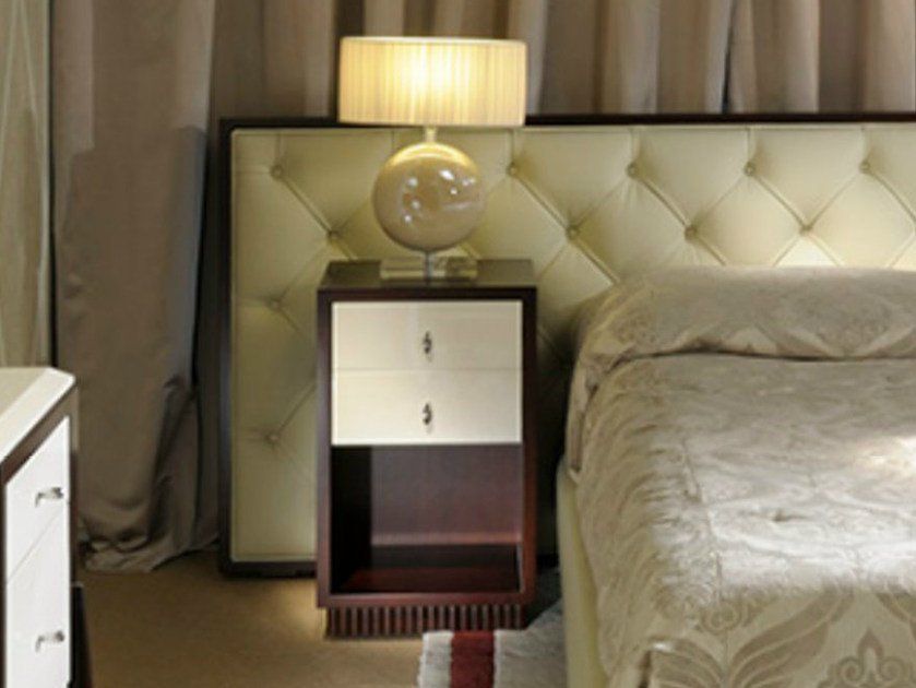 Bedside table with drawers ART DECO MILANO | Bedside table - Transition by Casali