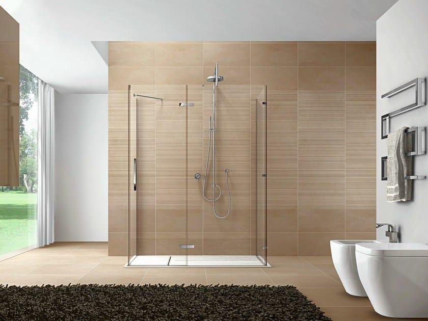 Rectangular Aquatek shower cabin CLIP10 by Idea
