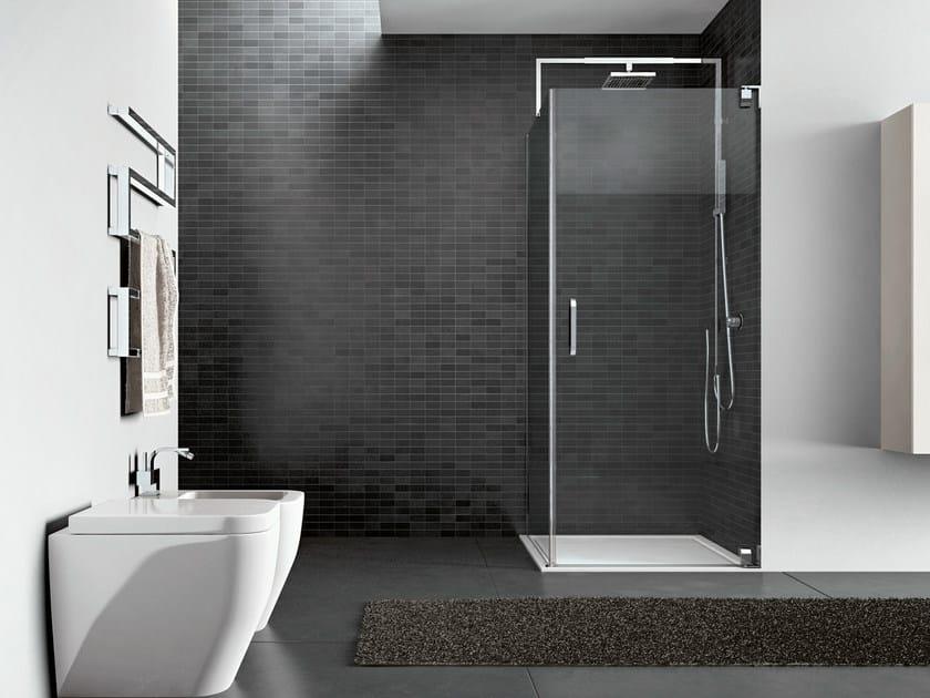 Steel shower cabin HAND08 - IdeaGroup