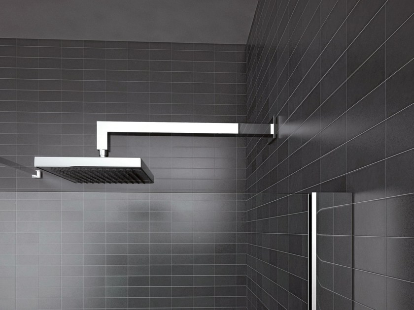 Wall-mounted chrome-plated overhead shower HAND | Wall-mounted overhead shower - IdeaGroup