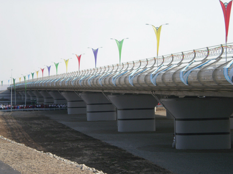 Avaza Bridge, Turkmenistan