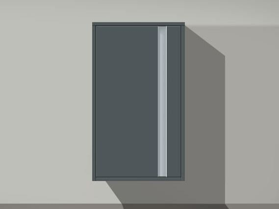 Tall storage suspended bathroom cabinet KETHO | Suspended bathroom cabinet - DURAVIT