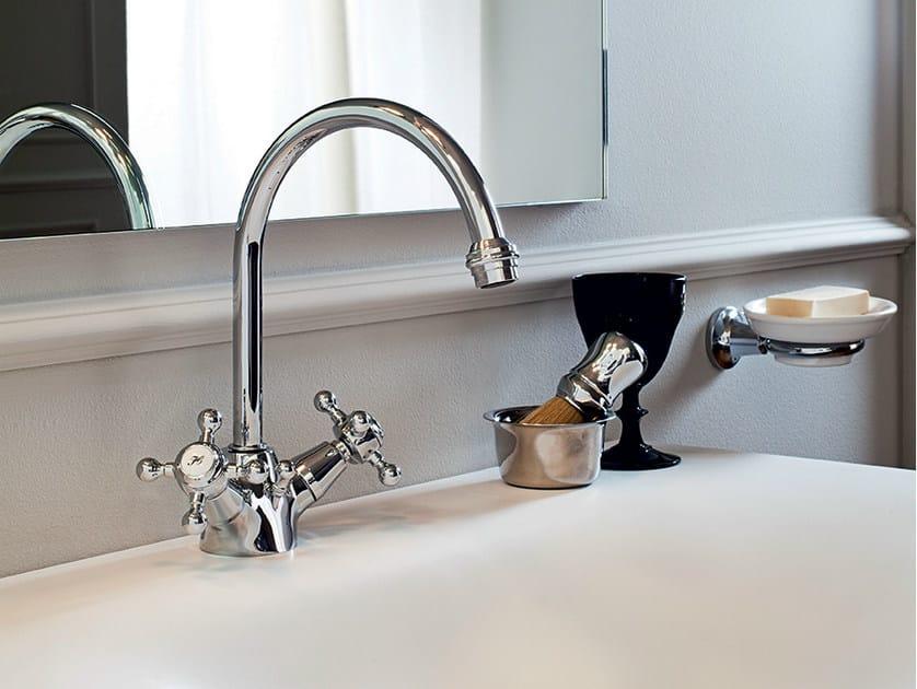1 hole washbasin tap with individual rosettes AGORÀ | Washbasin tap with individual rosettes - ZUCCHETTI