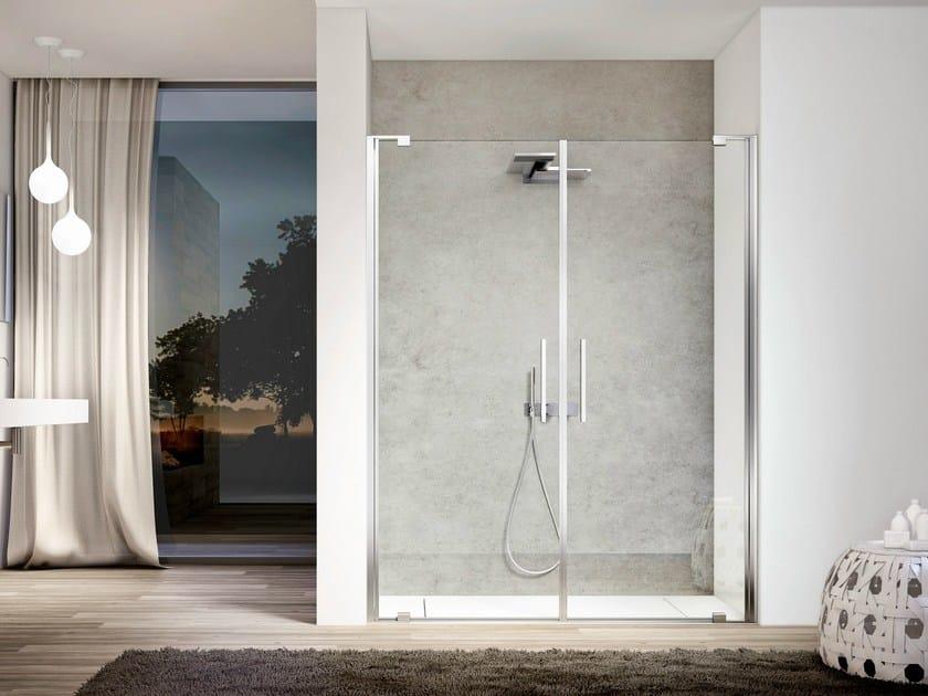 Niche glass shower cabin SLIM 02 by Idea