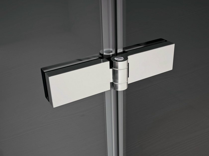 Chrome plated steel Cabinet Hinge SMART | For glass doors Cabinet Hinge by Idea