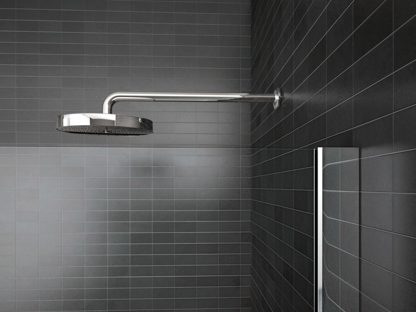 Wall-mounted steel overhead shower WALK-IN | Overhead shower - IdeaGroup
